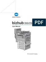 Bizhub 250 350 - User Guide