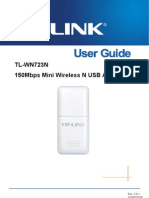 TL-WN723N User Guide