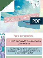 Educacion en Mexico