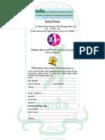 Entry Form Noida Open 19 to 21 Feb 2013 III Final III