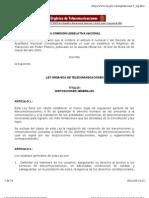 Ley Orgnica de Telecomunicaciones