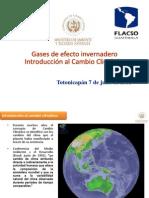 5 Gases de Efecto Invernadero Introduccion Al Cambio Climatico