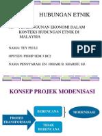 M9 Pembangunan Ekonomi Dalam Konteks Hubungan Etnik Di Malaysia