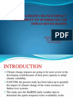 Climate Change Impact Assessment on Hydrology of Indian