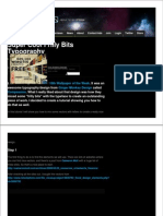 Abduzeedo.com Super Cool Frilly Bits Typography