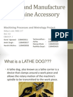 making of lathe dog