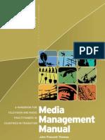 Media Management Manual