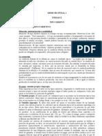 Apuntes Derecho Penal i Parte General (((Teoria Del Delito Tipos Omisivos)))
