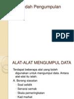 Kaedah Mengumpul Data
