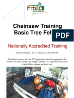 Chainsaw Ticket - Tree Felling