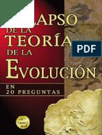 Colapso de La Teoria de La Evolucion