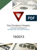 Dividend Weekly 19_2013