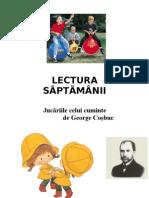 LECTURA   SÃPTÃMÂNII -20