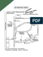 Denah Lokasi Gasy Property - Dekat Bandara Bali Baru Buleleng