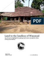 Land to the landless of Wayanad