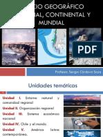 Espacio geográfico Unidad I - Sergio Córdova Soza