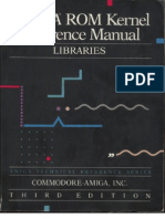 Amiga Rom Kernel Reference Manual Libraries