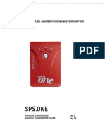 Manual Sps One