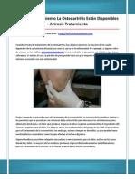 Artrosis Tratamiento