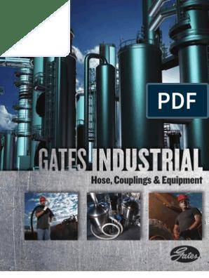 Gates 31320815 Oilfield Hose 1 ID 300 psi Maximum Pressure Tan 1 ID