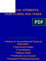 4. Financial Statement, Cash Flows and Taxes