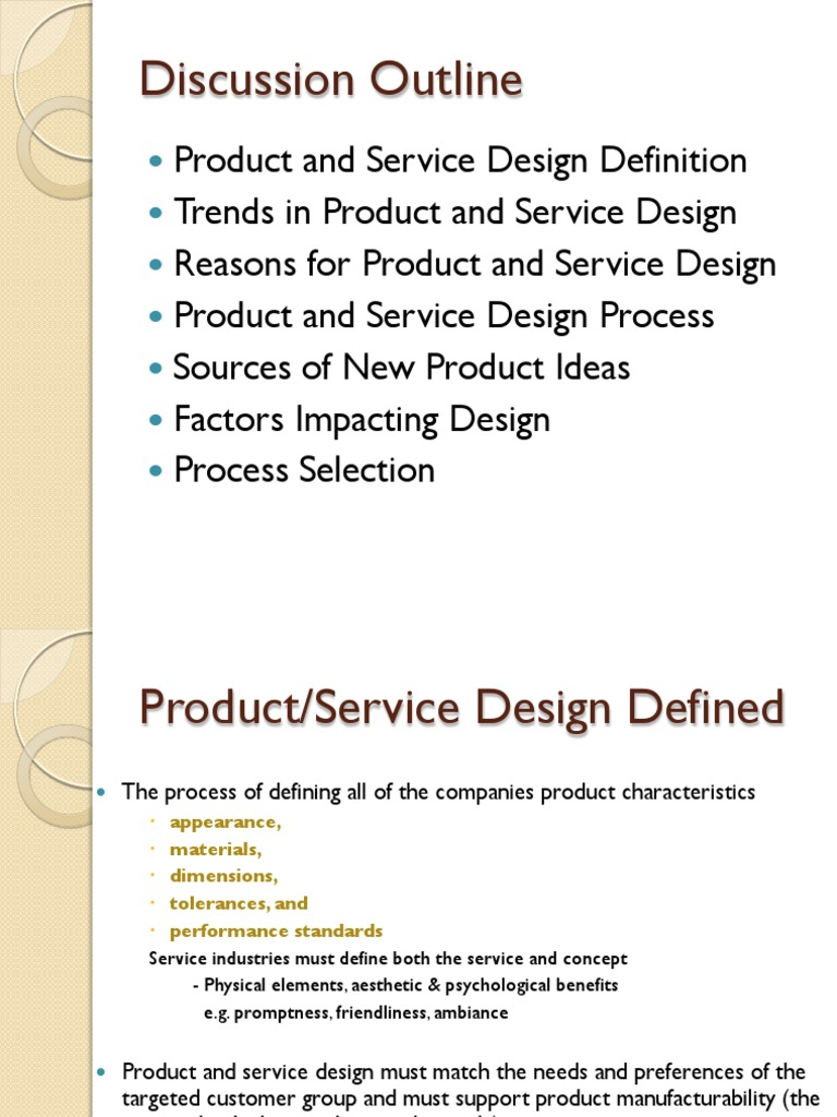 product design presentation | business | production and manufacturing