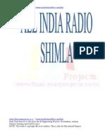 Air India ECE Project Report