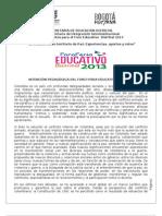 DocumentoLineamientosForoFeria29abr2013