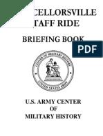 Chancellorsville Staff Ride Briefing Book