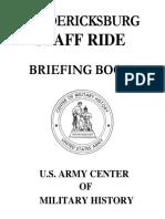 Fredericksburg Staff Ride Briefing Book