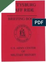 Gettysburg Staff Ride Briefing Book