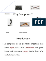 1.Introduction What is a Computer