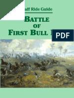 Staff Ride Guide Battle of First Bull Run