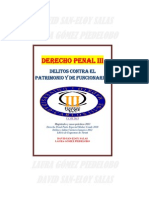 DERECHO PENAL III UC3M. DELITOS PATRIMONIO Y FUNCIONARIOS