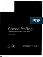 Profiling, Criminal