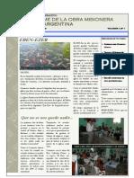 Informe de Argentina Marzo 2009