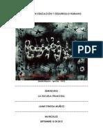 PINEDA - MÓDULO LA ESCUELA FRANCESA