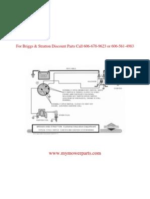 Ignition_wiring Basic Wiring Diagram BRIGGS & STRATTON on briggs stratton carburetor diagram, briggs stratton ignition diagram, 23 hp vanguard parts diagram, briggs stratton 16 hp welder schematic, 16 hp vanguard parts diagram, vanguard key switch diagram,