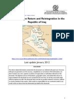 2012 Factsheet Iraq