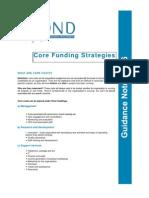 corefundingstrategies-1-090913150810-phpapp01