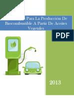 Tecnologias Para Elaboracion de Biocombustibles