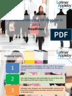 Latimer Appleby - Understanding the UK Shopper in 2013 - Consumer Insights - Retail - High Street