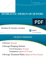 Design of sanitary sewers