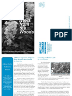 Gifford Pinchot Task Force 2009 Spring Newsletter