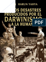 Los Desastres Producidos Darwinismo