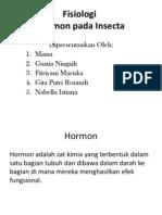 Ppt-Fisiologi Hormon Pada Seranga