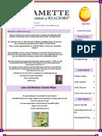 Willamette Association of Realtors April 2009 Newsletter
