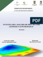 Investigarea Solurilor Prin Metode Geofizice Si Petrofizice(Rezumat)