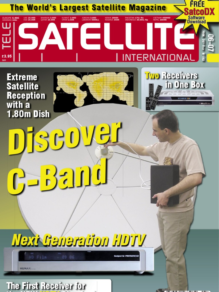 Satellite: Discover C-Band