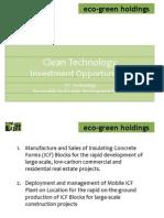 FIT Eco Green Proposal - Conceptual
